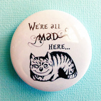 "We are all MAD here -  1.75"" Badge / Button"