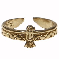 Native Bird Ring - Brass - Jewelry | GYPSY WARRIOR