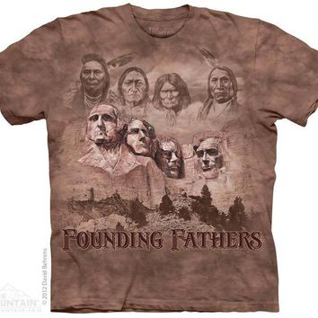 New NATIVE AMERICAN FOUNDING FATHERS T SHIRT