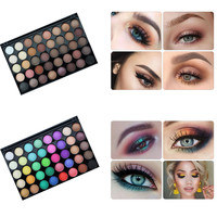 40 Colors Baked Eye Shadow Palette Professional Matte Eye Shadow Palette Maquillage Glitter Eyeshaodw Baked Shadows Eye Cosmetic