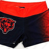 Chicago Bears Forever Collectibles Women's Boy Shorts Sizes S-XL