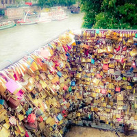 Paris Love Locks Fine Art Photography Print