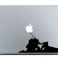 Banksy Iwo Jima Macbook Decal Mac Apple skin sticker