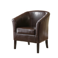 Simon Club Chair Brown