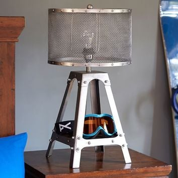 Industrial Ladder Table Lamp