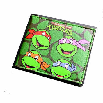 Teenage Mutant Ninja Turtles Wallet .for Kids