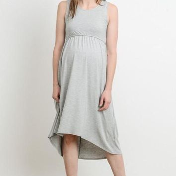 """Ellie"" Maternity/Nursing Easy Dress"