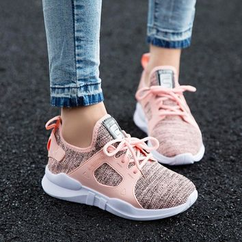 Women Sneakers  Shoes Summer 2018 Spring Canvas Women running Shoes sport shoes women with Breathable Vulcanization Sneakers