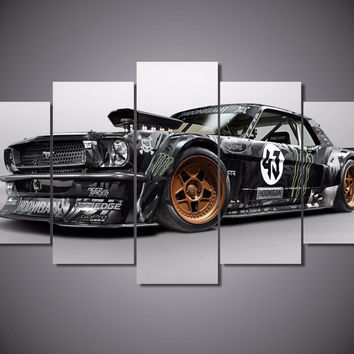 Ford Mustang RTR 5-Piece Wall Art Canvas