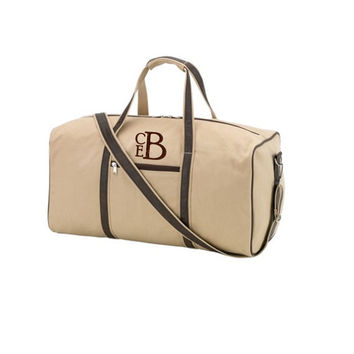 15% OFF Groomsmen Gift Bundles-Canvas/ PU Leather Duffle Bags Sold In Sets of 10, 11, and 12 Free Shipping and Free Monogramming