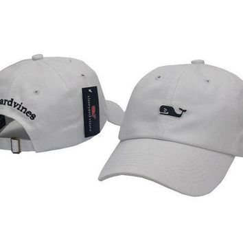 CREY9N Vineyard Vines Women Men Embroidery  Sports Sun Hat Baseball Cap Hat