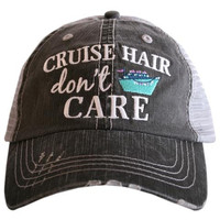 Katydid Cruise Hair Don't Care Trucker Hat