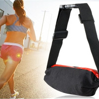 Stretch Outdoor Waterproof Stretch Waist Bag Fanny Pack (Red)