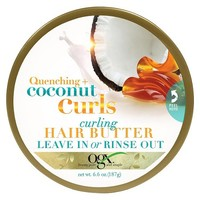OGX® Quenching + Coconut Curls Curling Leave in Hair Butter 4 oz : Target