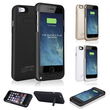 External Battery Case Power Charger Charging Cover For Iphone 6 / 6s / Iphone 6 Plus / 6s Plus / Iphone5 / 5c / 5s / Iphone Se
