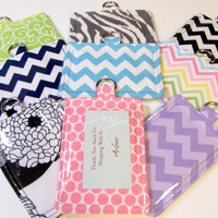 Horizontal or Vertical ID Pouch w/ Back Pocket Pick Your Own 70 Fabrics Hang from your Lanyard
