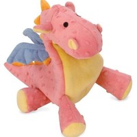 goDog Baby Dragon Plush Dog Toy Size: Regular Coral