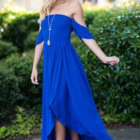 Like No Other Maxi Dress, Royal Blue