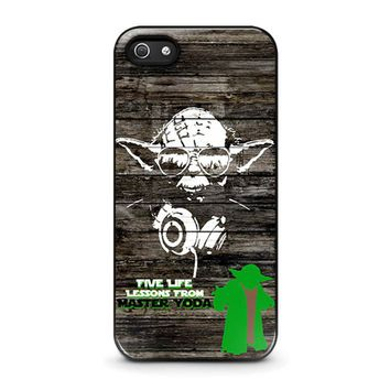 master yoda star wars iphone 5 5s se case cover  number 1