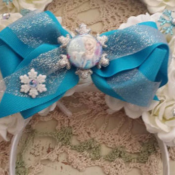 Princess Elsa From Frozen Inspired Minnie Disney Ears