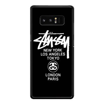 Stussy Tours Samsung Galaxy Note 8 Case