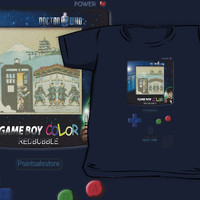 Tardis Doctor Who Nintendo Gameboy Gameguy All size Kids and Baby T-shirt Clothes