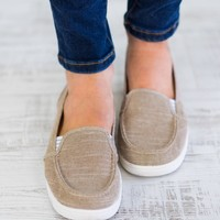 Not Rated - Mackerel Taupe Flats