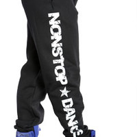 Non-Stop Dance Streetwear Sweatpants at Threader® Streetwear, Hip Hop Clothing, and Urban Clothing