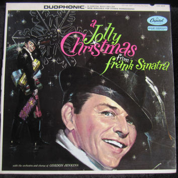 Frank Sinatra - A Jolly Christmas from Frank Sinatra - LP - Capitol Records - W894 - Vinyl Record LP