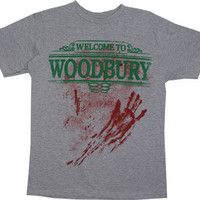 Welcome To Woodbury - Walking Dead Sheer T-shirt - MyTeeSpot - Your T-shirt Store