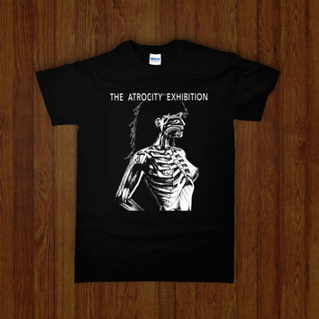 The ATROCITY EXHIBITION Shirt (JG Ballard experimental novel cult book uk 70s controversial Kennedy jfk Love and Napalm Jonathan Weiss film)