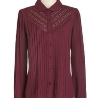Myrtlewood Mid-length Long Sleeve Savvy Sommelier Top