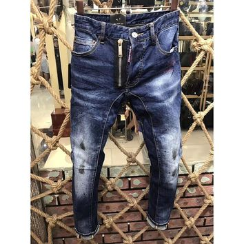 Dsquared2 Fashion Casual Pants Trousers Jeans-9