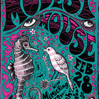 Modest Mouse Poster by artist: Darren Grealish