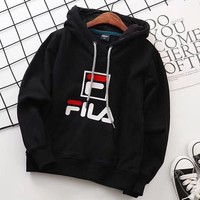 Fila Girls Boys Children Baby Toddler Kids Child Fashion Casual Top Sweater Pullover Hoodie