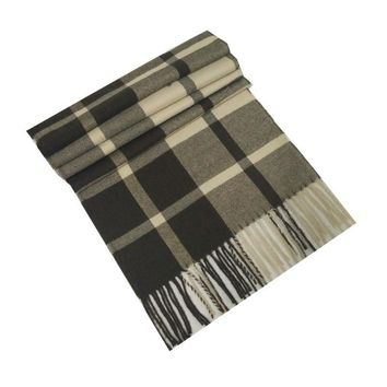 WJ002-21 2016 New men's scarf Imitation cashmere knitting plaid color warm winter women Scarves