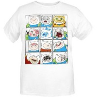 Adventure Time The Many Faces Of Finn T-Shirt