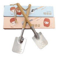 Cute Home Kitchen Helper Stylish Hot Deal On Sale Easy Tools Creative Stainless Steel Tableware Strong Character Couple Set Hot Sale Spoon [6283276614]