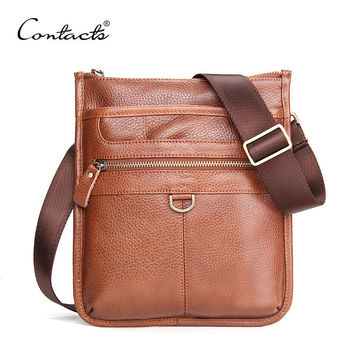 Men Leather Casual Multi-function Korean Messenger Bags [9026423491]