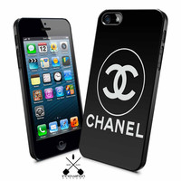 chanel black logo iPhone 4s iphone 5 iphone 5s iphone 6 case, Samsung s3 samsung s4 samsung s5 note 3 note 4 case, iPod 4 5 Case