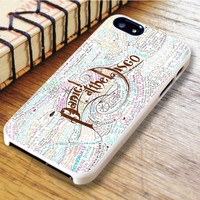 Panic At The Disco Lyric iPhone 6 Case