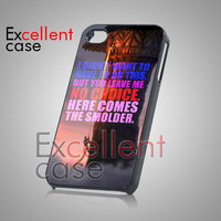 Disney Tangled Eugine Quote - iPhone 4/4s/5 Case - Samsung Galaxy S2/S3/S4 Case - Black or White