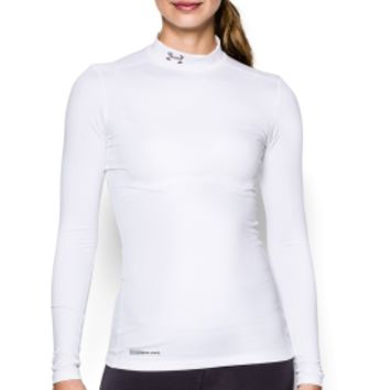 Under Armour Women's Fitted ColdGear Mockneck Shirt | DICK'S Sporting Goods