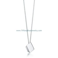 Find The Last Cheap Tiffany & Co Square Pendant Necklace In Tiffanybluejewelry.com