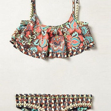 Hot cute totem falbaLa two piece cute bikinis