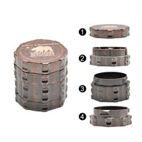 New 4-Part Grinder With A Diameter of 45mm
