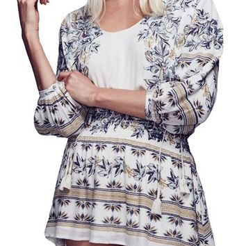 Free People 'Moonlight Drive' Print Minidress | Nordstrom