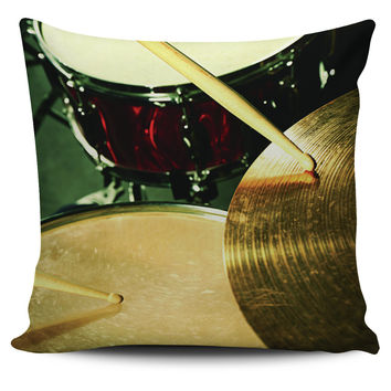 Drumming Pillow Covers