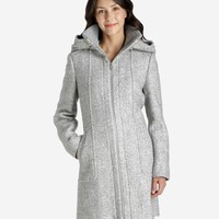 Louise Tweed Boucle Hooded Coat - Fall Collection - Collections - Women