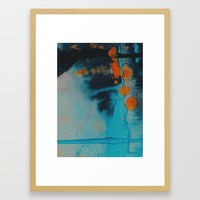 Couldn't look you in the eye Framed Art Print by duckyb